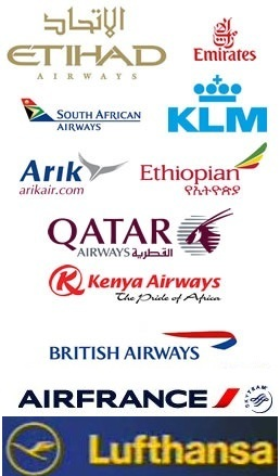 List of Supporting Airlines